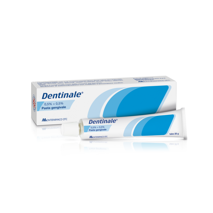 Dentinale® 0.5% + 0.5% Montefarmaco Gingival Paste OTC 25g