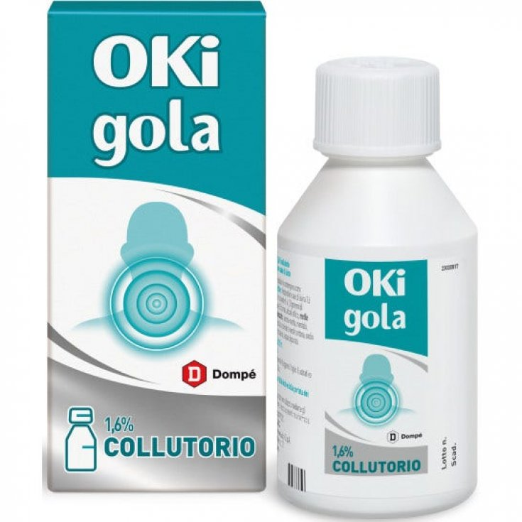 OKi Inflammation And Pain 1.6% Dompé Mouthwash 150ml