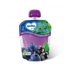 100% Blueberry And Black Currant Mellin Snack 90g