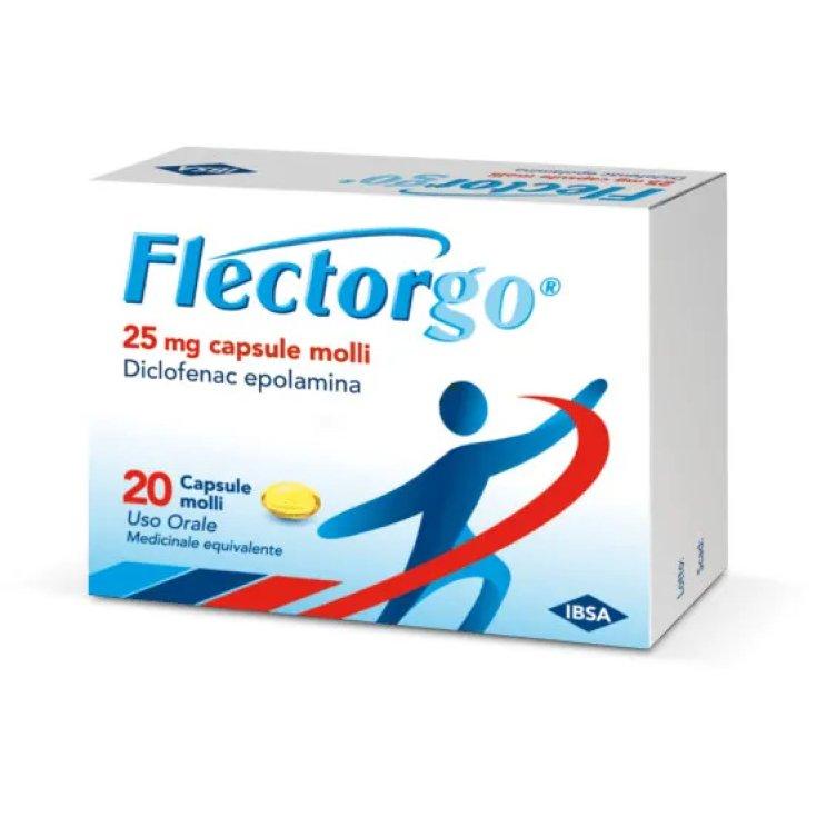 Flectorgo 25mg IBSA 20 Soft Capsules