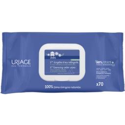 Baby Uriage Cleansing Wipes 70 Pieces
