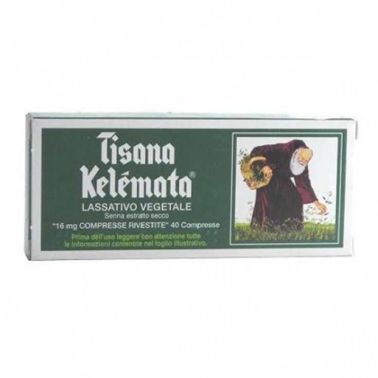 Kelemata Kelemata 16mg Herbal Treatment Occasional Constipation 40 Coated Tablets