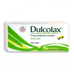 Dulcolax 5mg 40 Tablets Coated