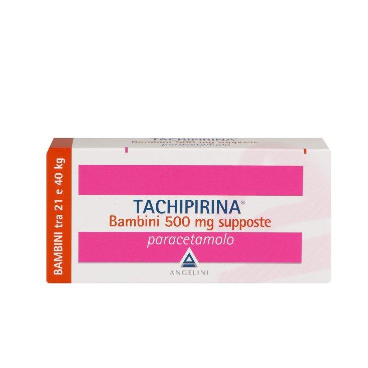 Angelini Tachipirina Children 500mg Paracetamol 10 Suppositories