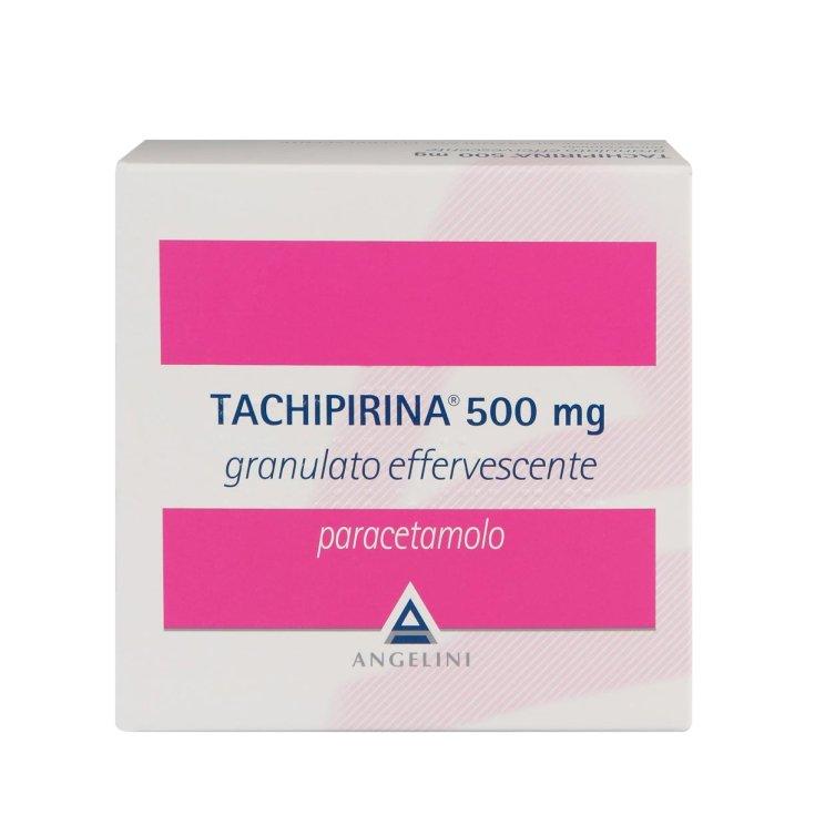 Angelini Tachipirina 500mg Effervescent Granule For Fever And Pain 20 Sachets