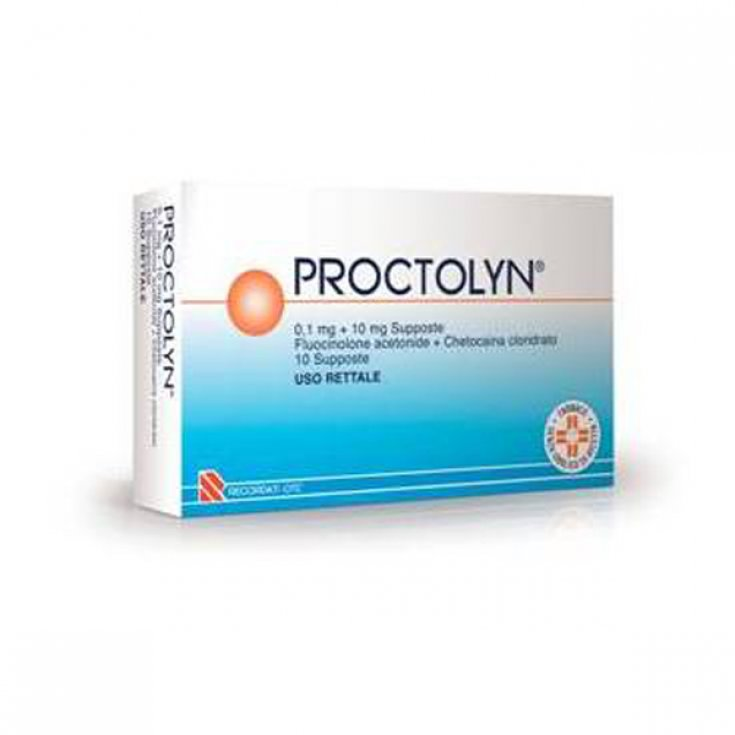 Proctolyn® 0.1mg + 10mg 10 Suppositories