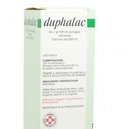 Abbott Duphalac 66,7g / Syrup 100ml bottle 200ml Occasional Constipation Treatment