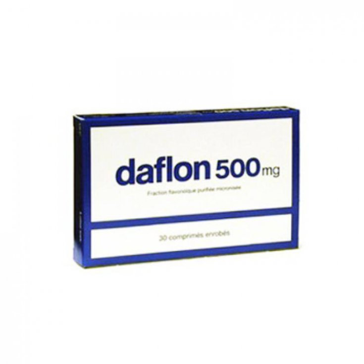 Daflon 500mg 30 Tablets Coated
