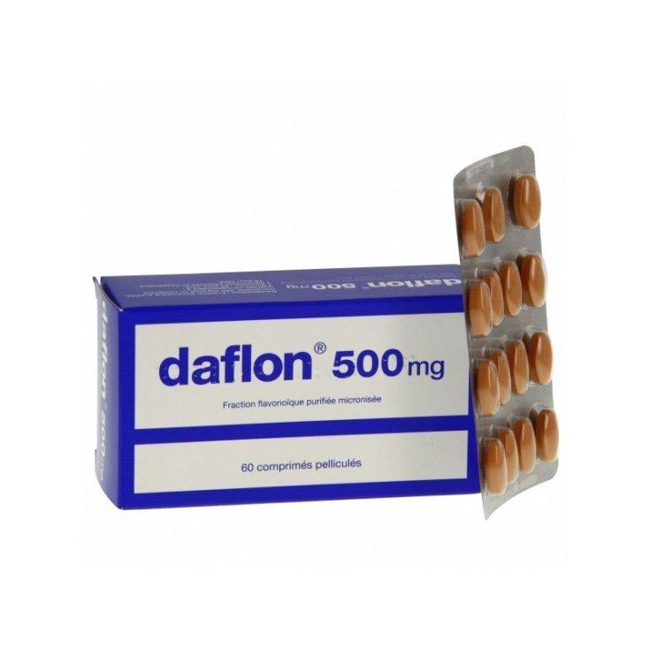 Daflon 500mg 60 Tablets Coated