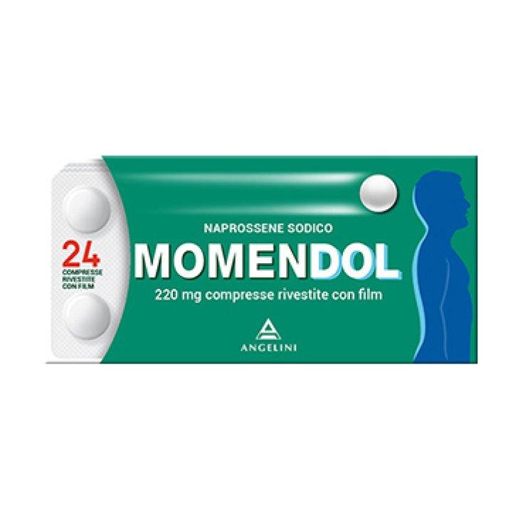 Angelini MomenDOL 220mg Naprossene Sodium 24 Coated Tablets