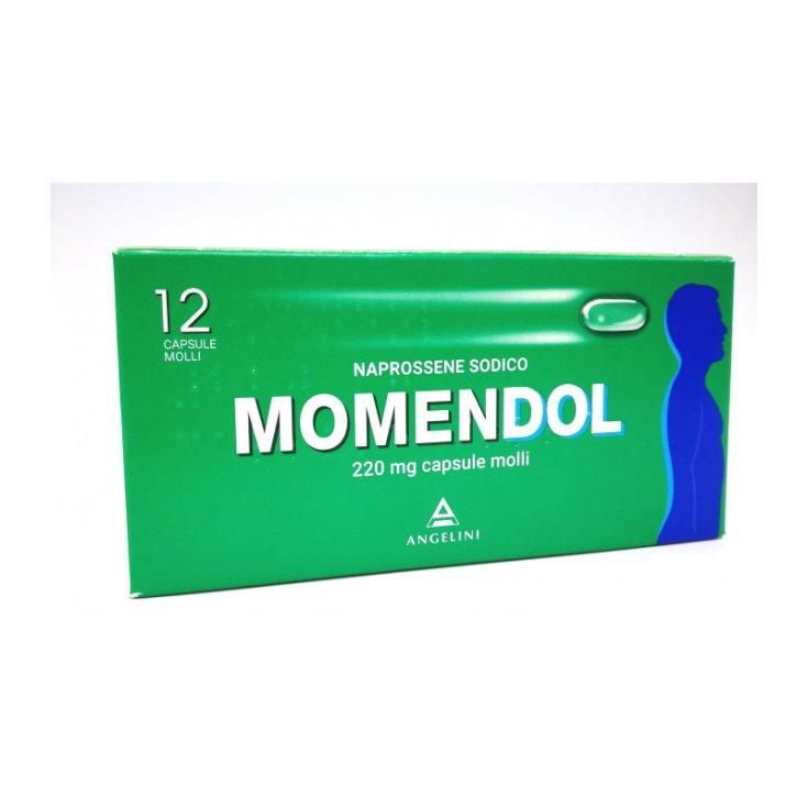 Angelini Momendol 220mg 12 Soft Capsules