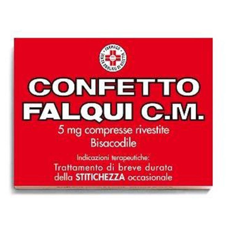 Falqui Sugar Plum Falqui CM Treatment Occasional Constipation 20 Coated Tablets