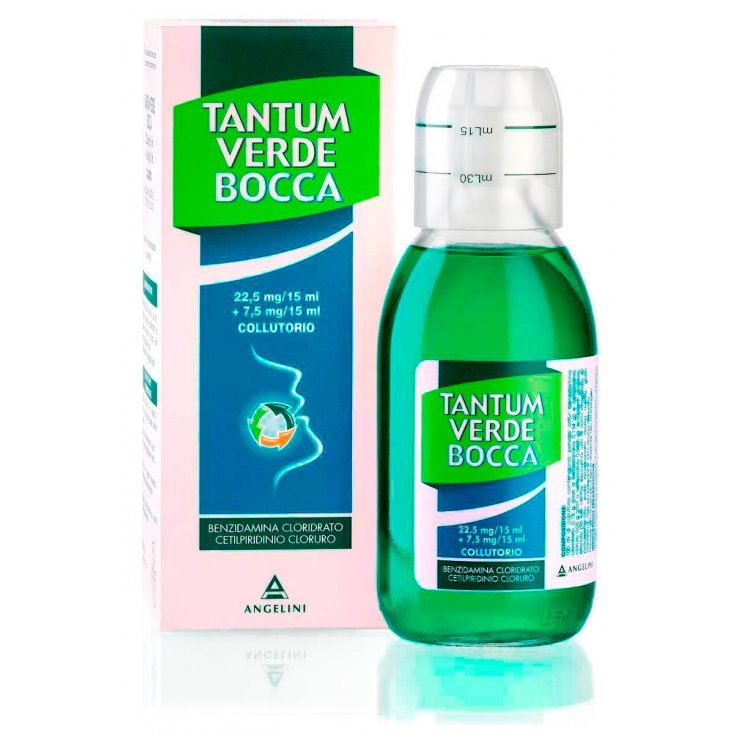 Angelini Tantum Verde Mouthwash 240ml