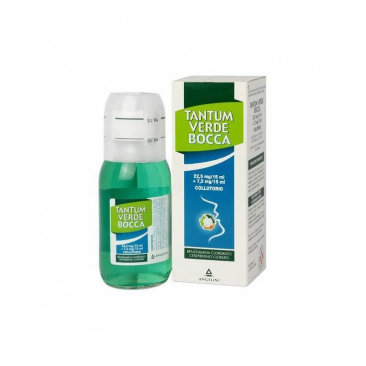 Angelini Tantum Verde Mouthwash 120ml
