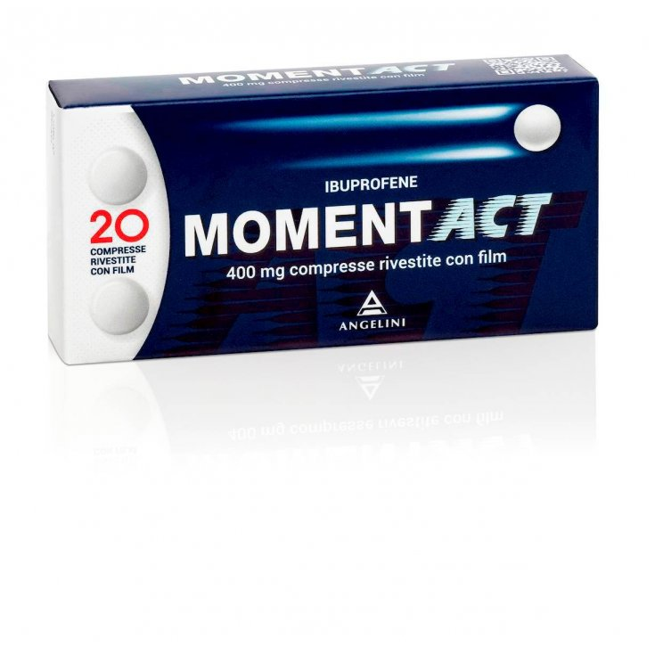 Angelini MomentACT 400mg Ibuprofen 20 coated tablets
