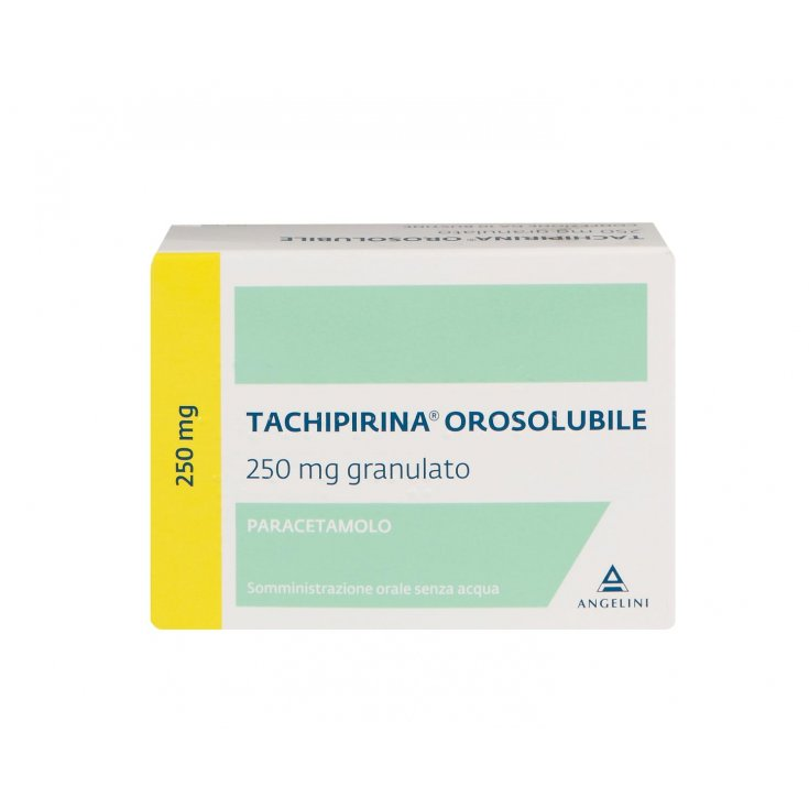 Angelini Tachipirina Orosoluble 250mg Granules 10 Sachets