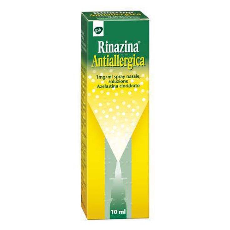 Rinazine Antiallergic Nasal Spray 10ml