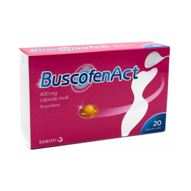Buscofenact * 20 Capsules 400 mg