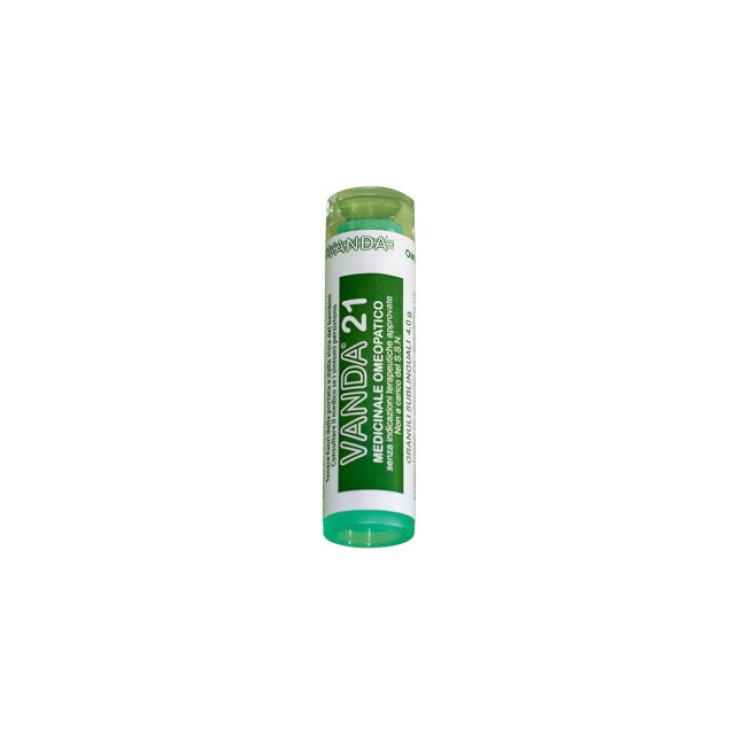 Vanda Homeopathic AIC Vanda 21® Granules Homeopathic Remedy 80gr 4g