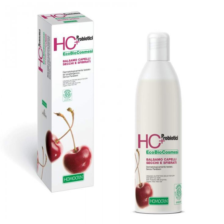 Specchiasol Homocrin Nourishing Natural Balm For Dry Hair And Damaged 250 ml