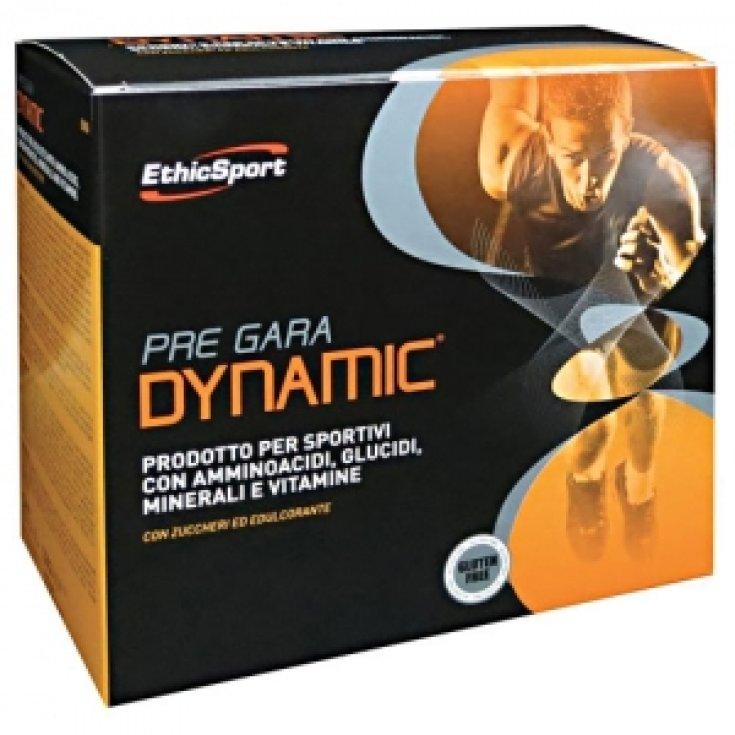 EthicSport Pre Race Dynamic Food Supplement 20 Sachets