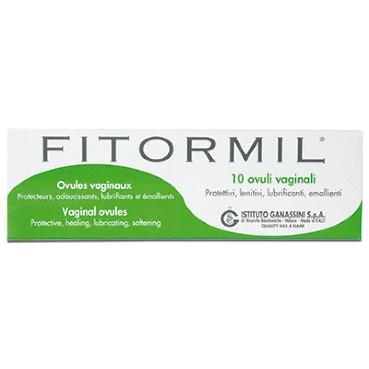 Fitormil Ganassini 10 Vaginal Ovules 3,25g