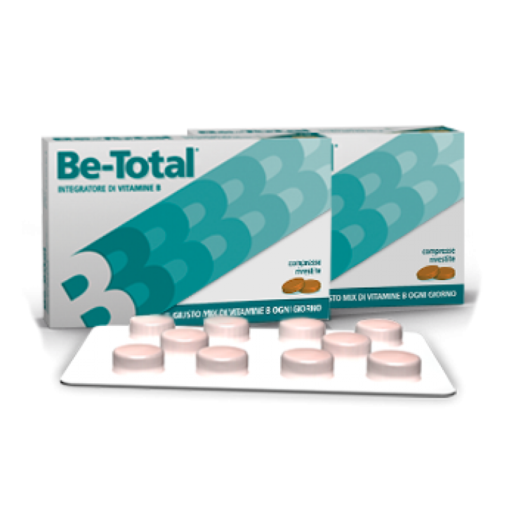 Be-Total Vitamin Supplement 40 Tablets
