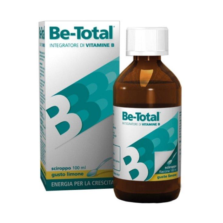 Be-Total Syrup Flavor Lemon Food Supplement 100ml