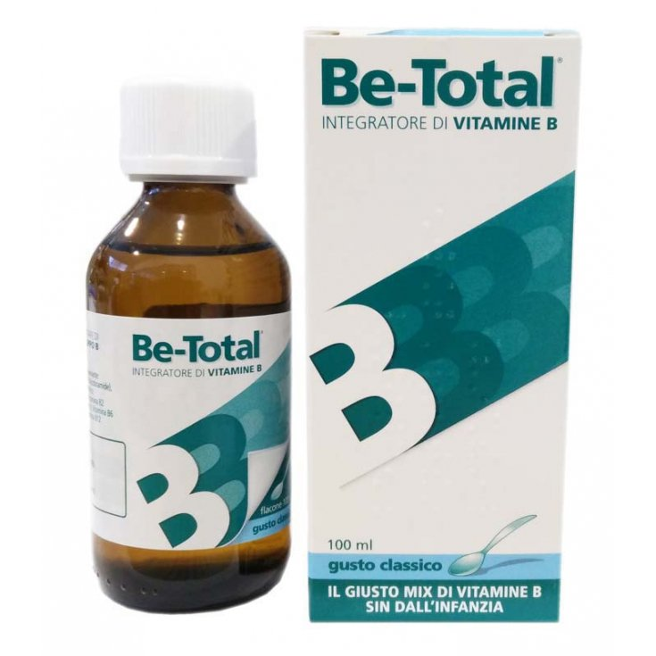 Be-Total Syrup Classic Taste Food Supplement 100ml