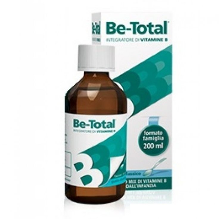 Be-Total Syrup Classic Taste Food Supplement 200ml