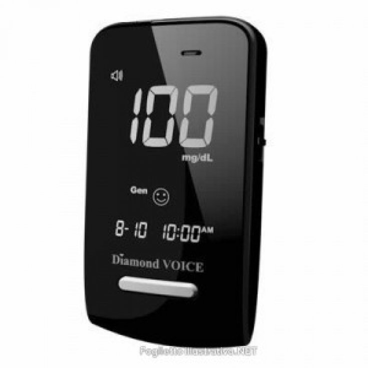 Fora Diamond Voice Dm20 Blood Glucose Meter Complete Kit