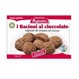 Agluten Kisses Chocolate Cookies Without Glutine160g