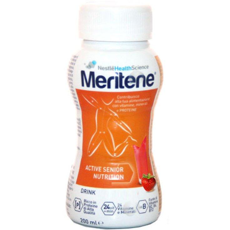 Nestlé Health Science Meritene Drink Food Supplement Taste Strawberry 200ml