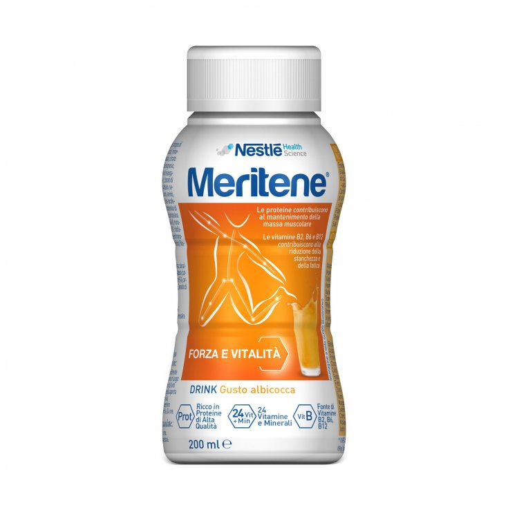 Nestlé Health Science Merita Strength and Vitality Drink Apricot Protein Drink With Vitamins E Mineral 200ml