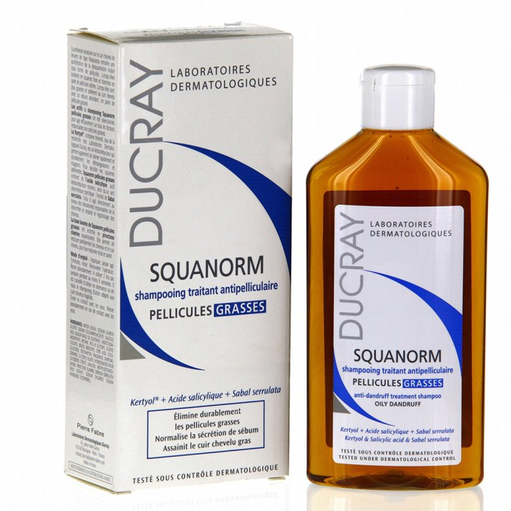 Fat Dandruff Shampoo 200ml Ducray Squanorm