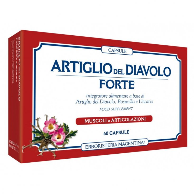 Capsules Devil's Claw Forte Food Supplement 60 Capsules
