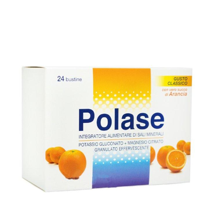 Polase Taste Orange Food Supplement Mineral Salts Gluten Free 24 Sachets