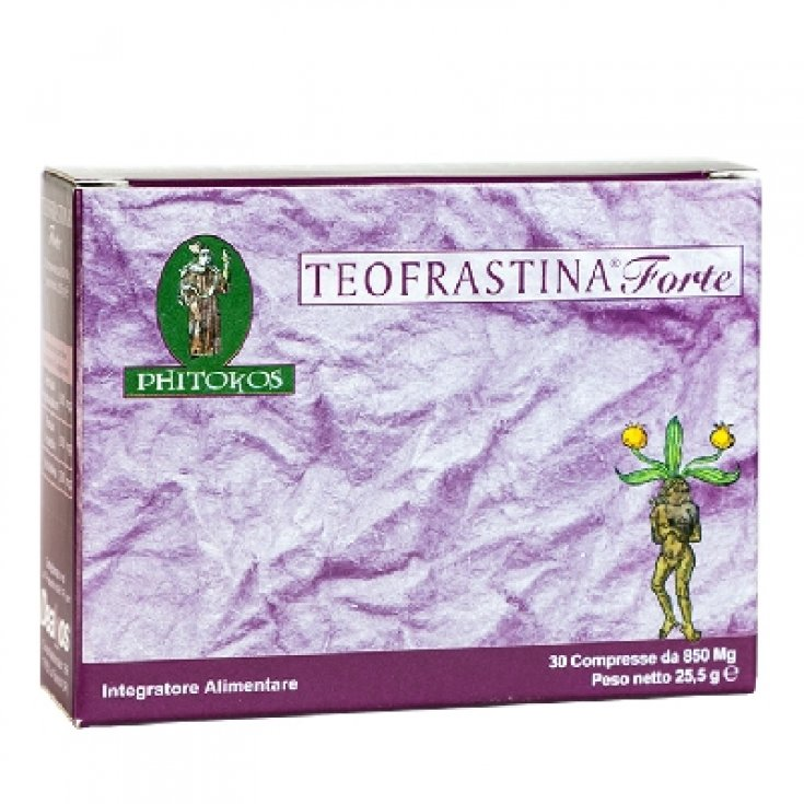 Deakos Theophrastine Strong Food Supplement 30 Tablets 850mg