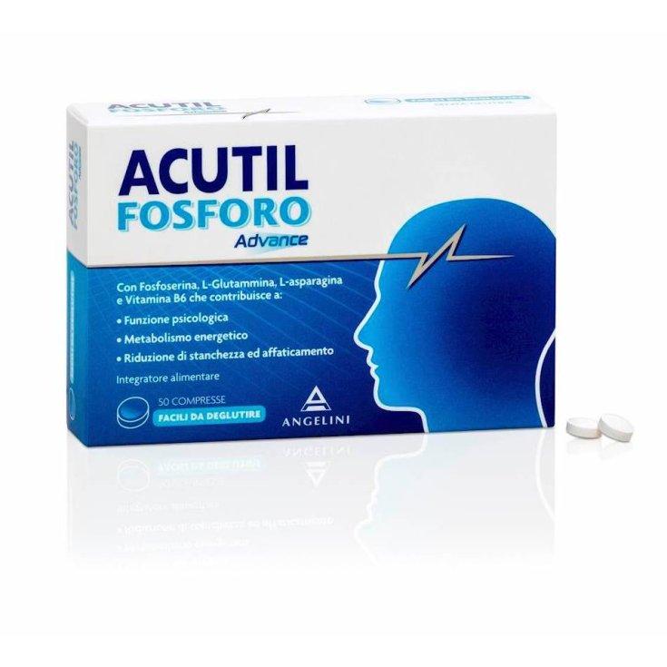 Angelini Acutil Phosphorus Advance Food Supplement 50 Tablets