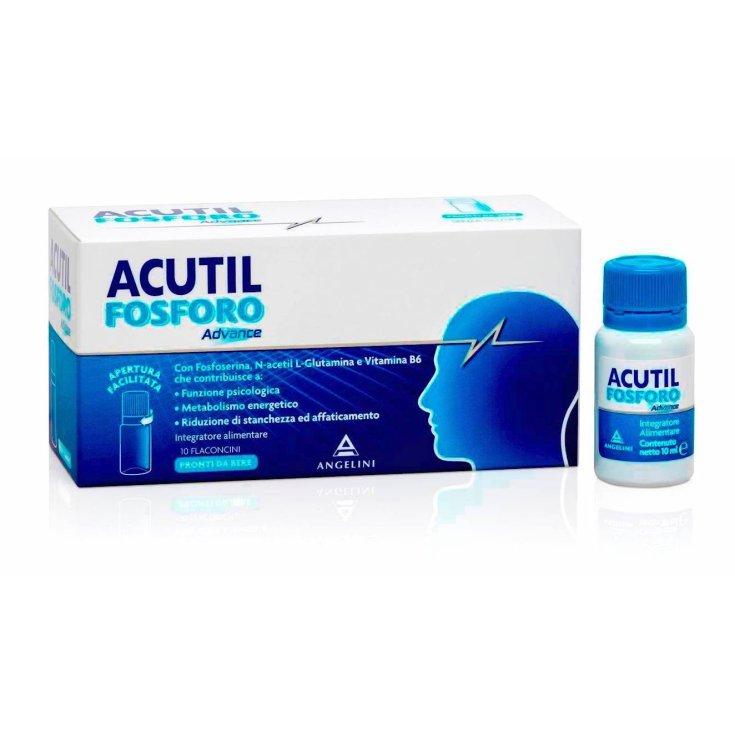 Angelini Acutil Fosforo Advance Food supplement 10 vials