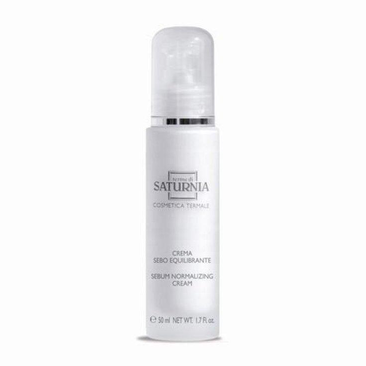Terme Di Saturnia Balancing Sebum Cream Oily and Acneic Skin 50ml