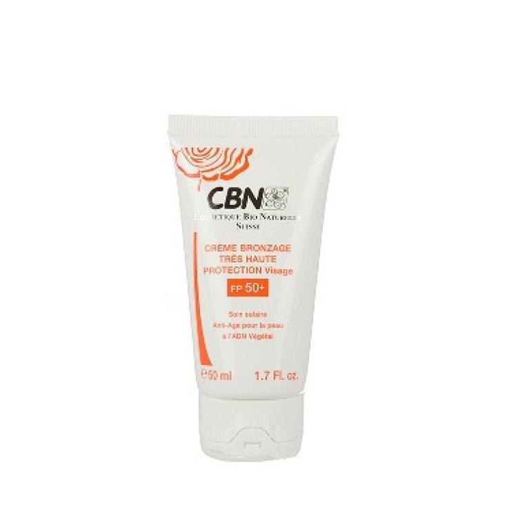 CBN Crème Bronzage Très Haute Protection Visage FP50 + 50ml