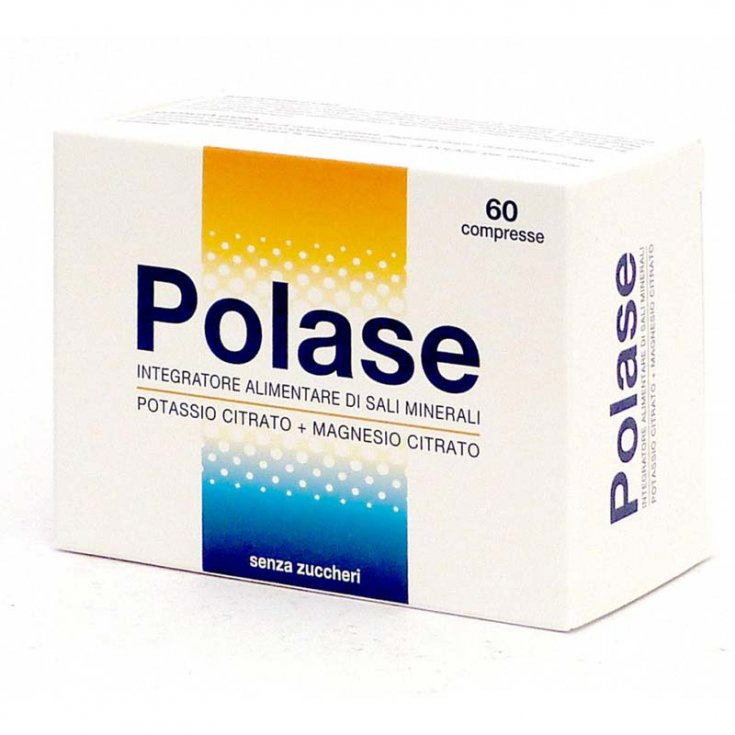 Polase Food Supplement Without Sugar and Gluten Free 60 Tablets