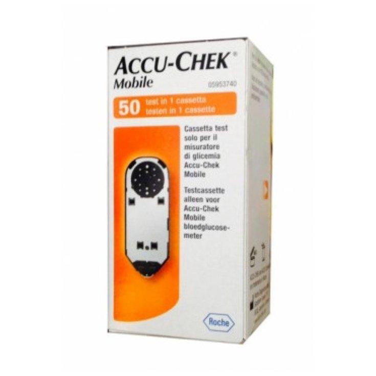 Roche Accu-Chek Mobile Glucose Measurement 50 Test In A Cassette