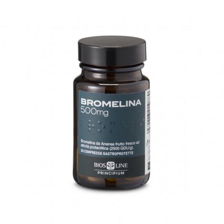 Biosline Principium Bromelain Food Supplement 30 Tablets