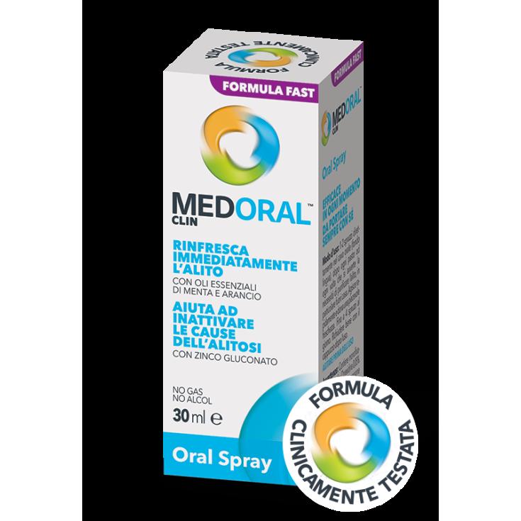 Medoral Clin Fresh Breath Oral Spray 30ml