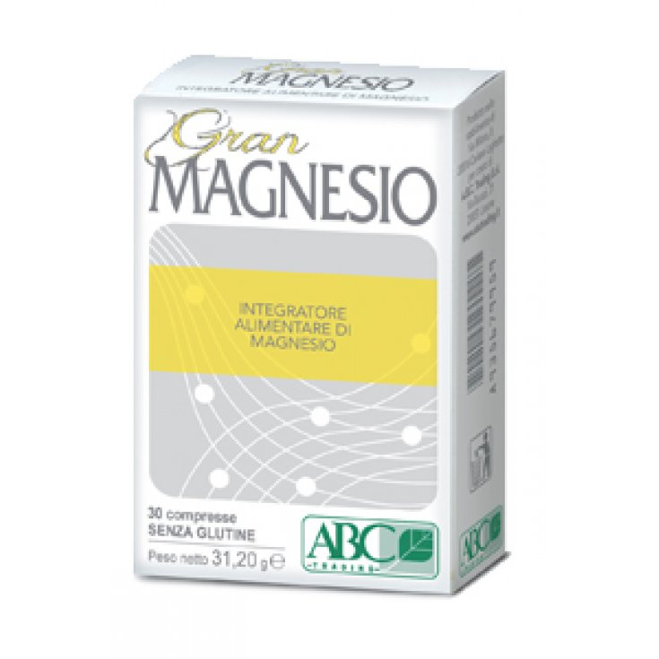 ABCTrading Gran Magnesium Food Supplement 30 Tablets