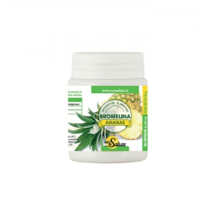 Eco Health Bromelain Pineapple Dietary Supplement 100 Tablets