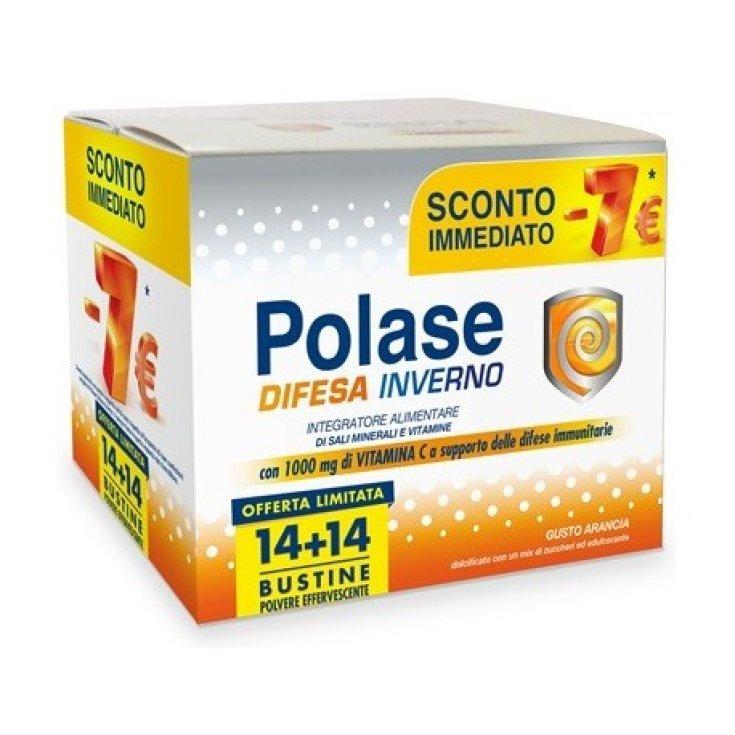 Polase Defense Winter Food Supplement 14 + 14 Sachets