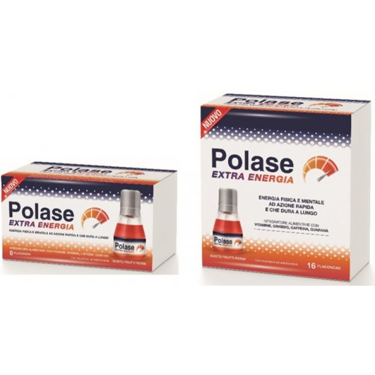 Polase Extra Energy Food Supplement 8 vials